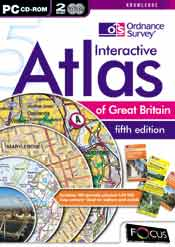 Ordnance Survey Interactive Atlas of Great Britain - fifth edition