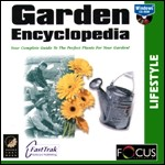 Garden Encyclopedia PC CDROM software
