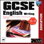 GCSE English Writing PC CDROM software